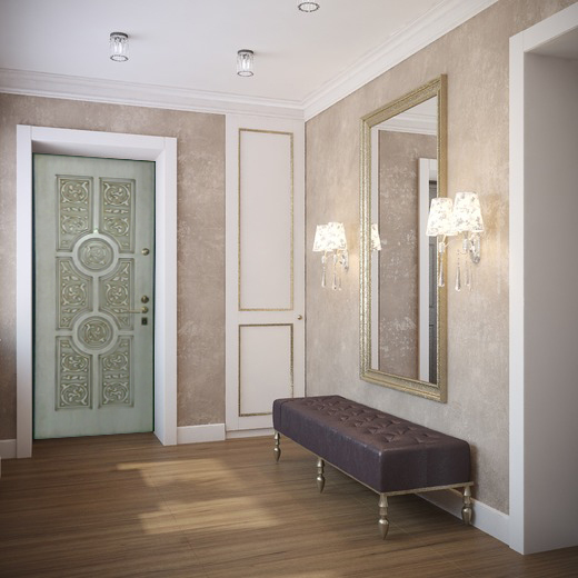 входная дверь дизайн коридора