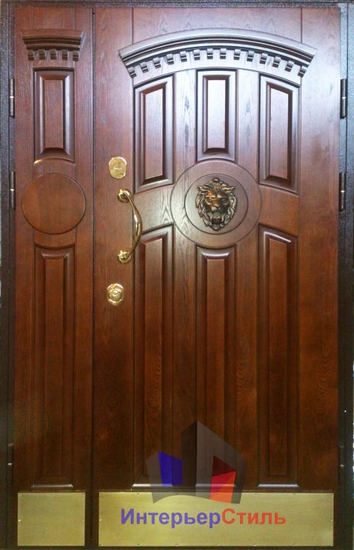 коттеджной стальной дверью